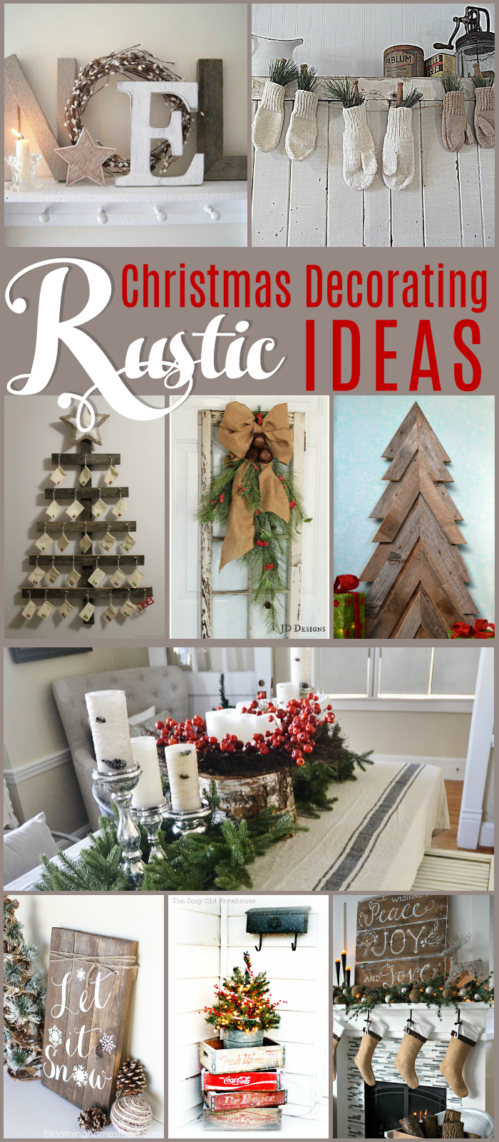 Link party no 72 new name alert the girl creative for Decorate christmas ideas your home