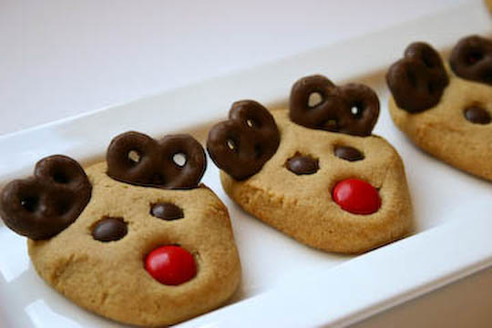 cookie swap-reindeer cookies