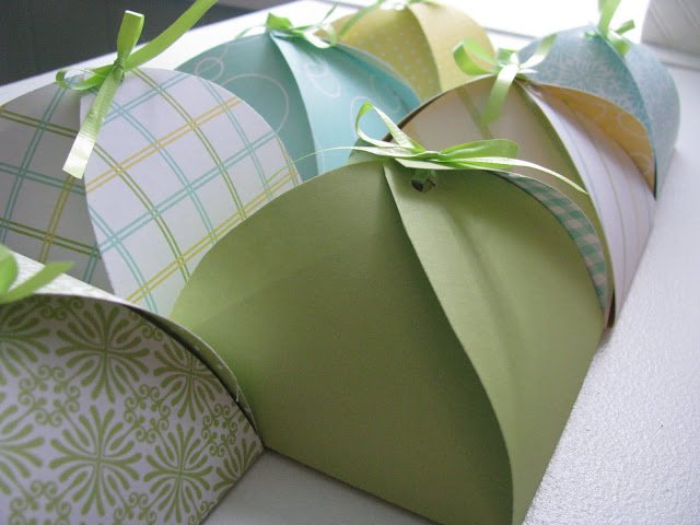cookie swap-wrapping-box template
