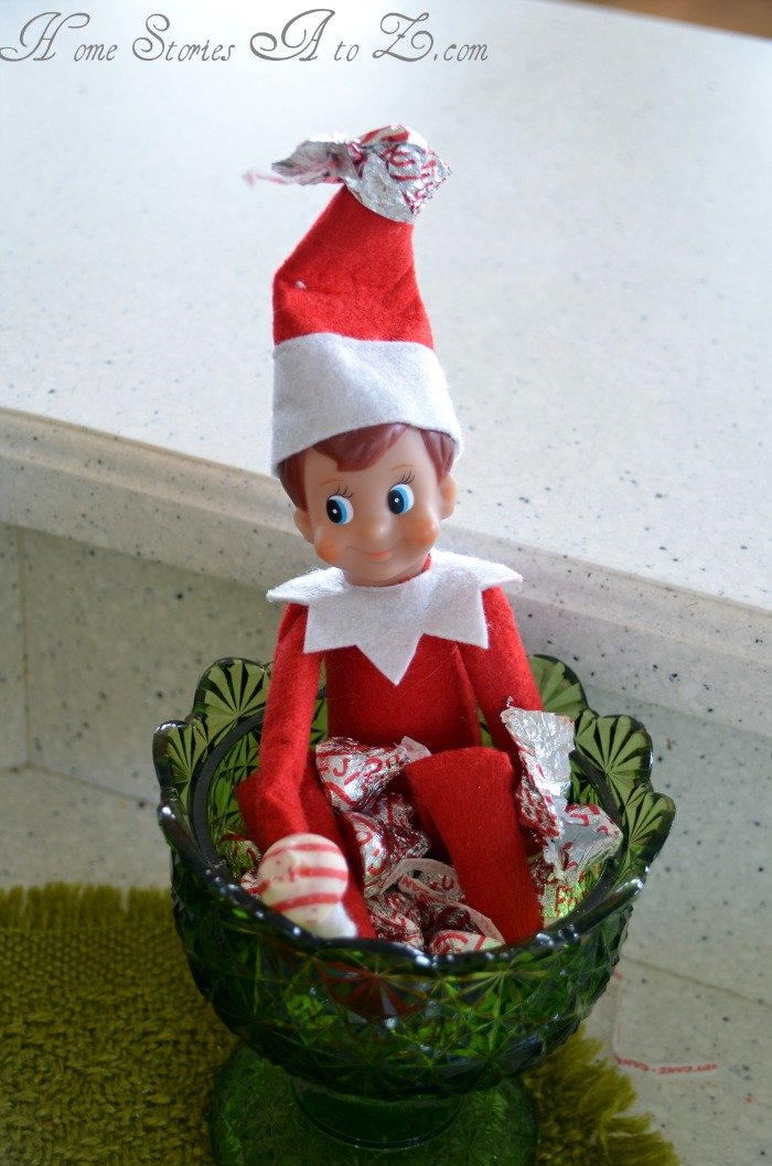 elf-candy bowl