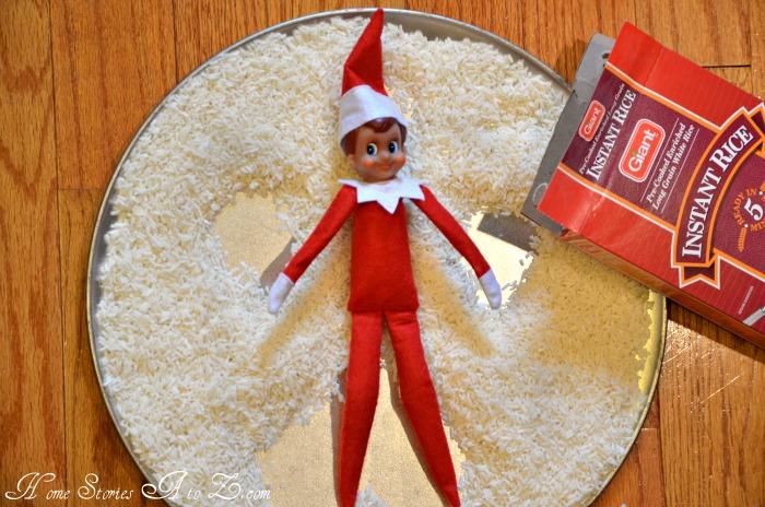 elf-snow rice angel