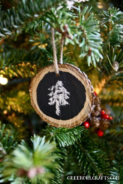 rustic-chalkboard ornaments