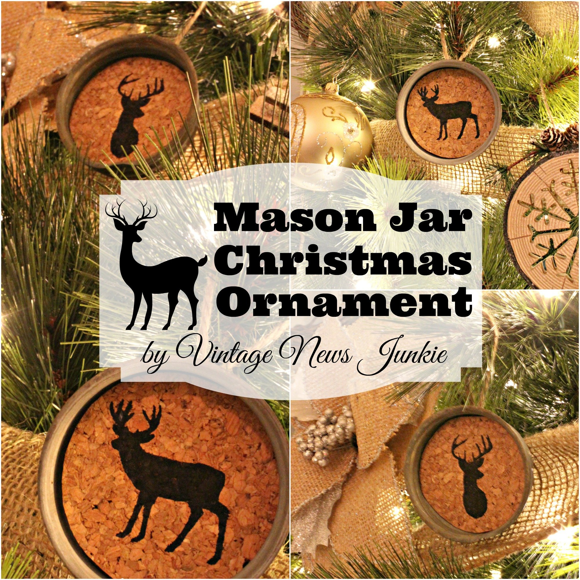 Rustic Christmas Ornaments Diy Rustic Christmas Ornaments The Girl Creative