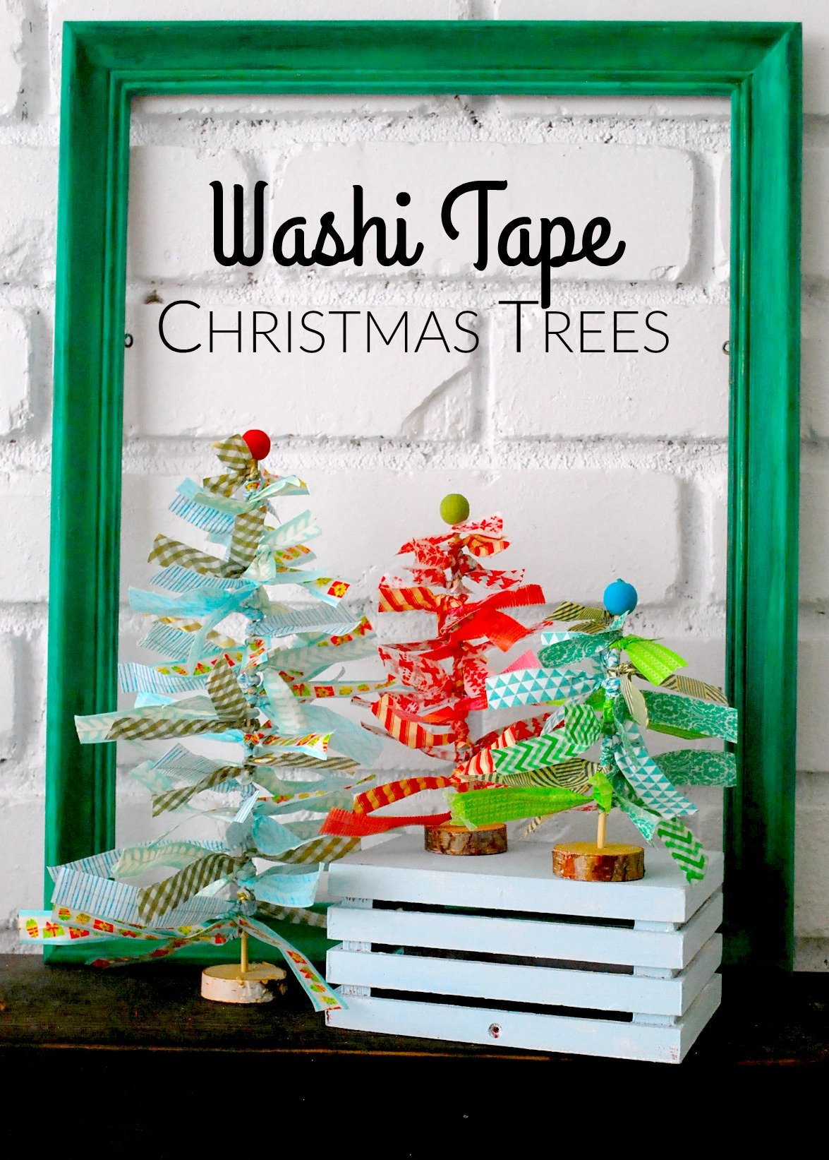 Washi-Tape-Christmas-Trees-by-The-Silly-Pearl-for-Reasons-to-Skip-the-Housework