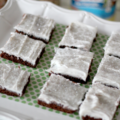 Delicious Frosted Brownies