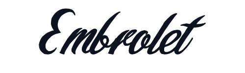 Embrolet Font