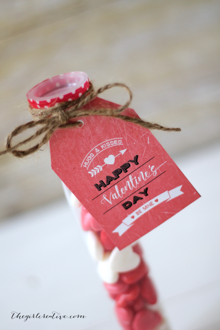 Hearbreaker Valentines with Free Printable Vintage Valentine's Day Gift Tags