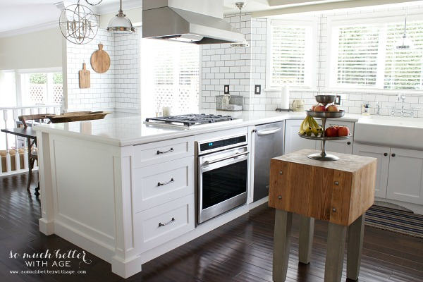 White Kitchen -So Much Better with Age