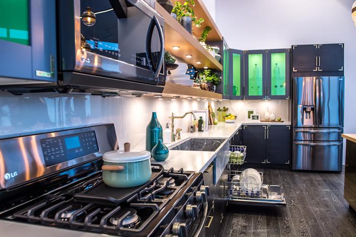 LG Kitchen Appliances - Photo by Pearcey Proper