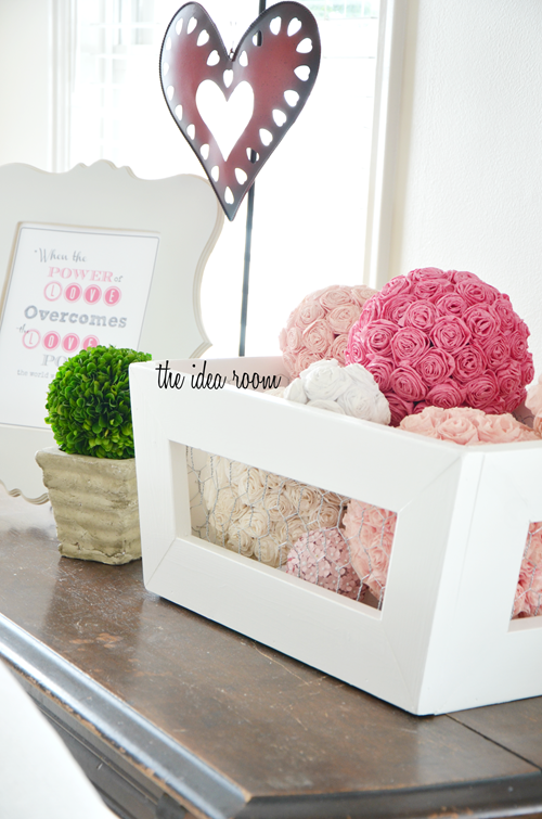 Rosette Valentine Crate - the idea room