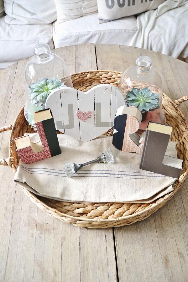 Wooden Valentine Heart - Liz Marie Blog