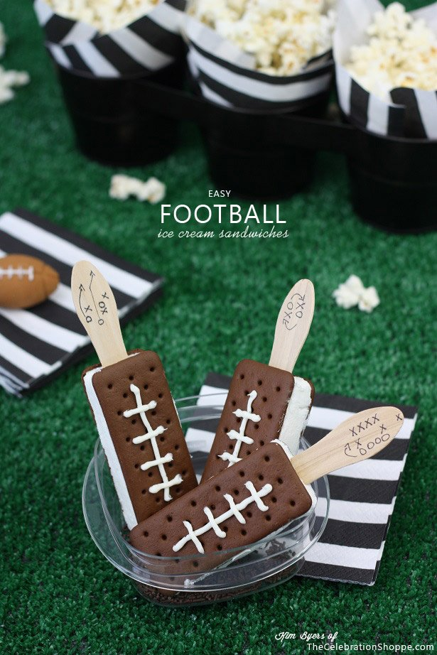 ice cream footballs
