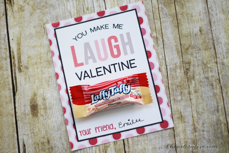 Classroom Valentines with Free Printable