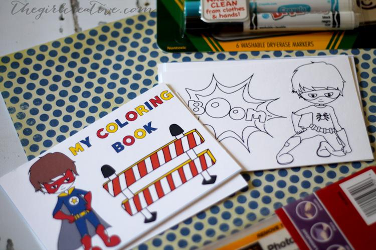 Dry Erase Coloring Book for Boys - Supplies2