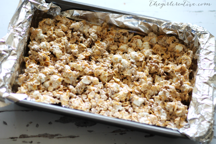 honey bunches of oats marshmallow treats the girl creative