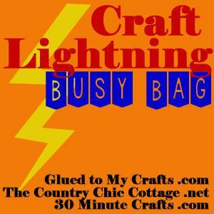 craft lightning busy bag