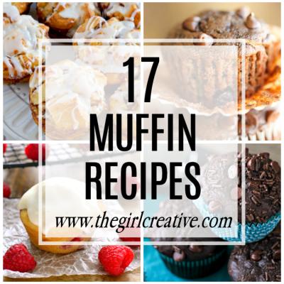 17 Delicious Muffin Recipes