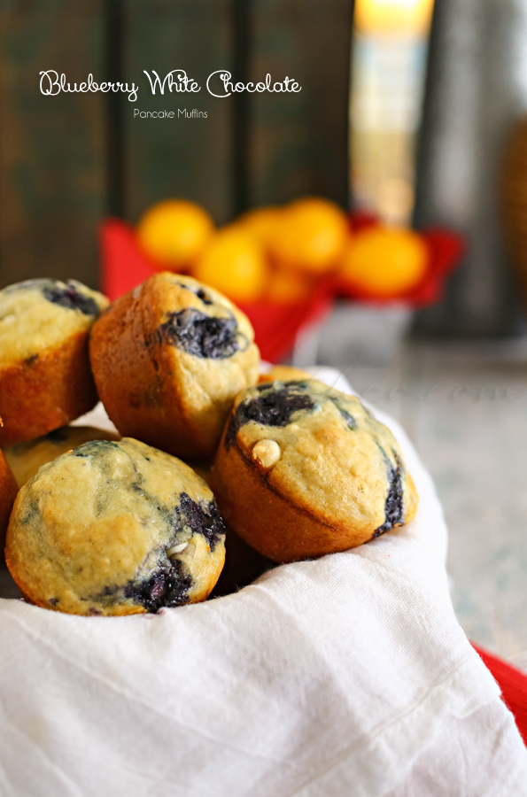Blueberry-White-Chocolate-Pancake-Muffins-Kleinworth and Co