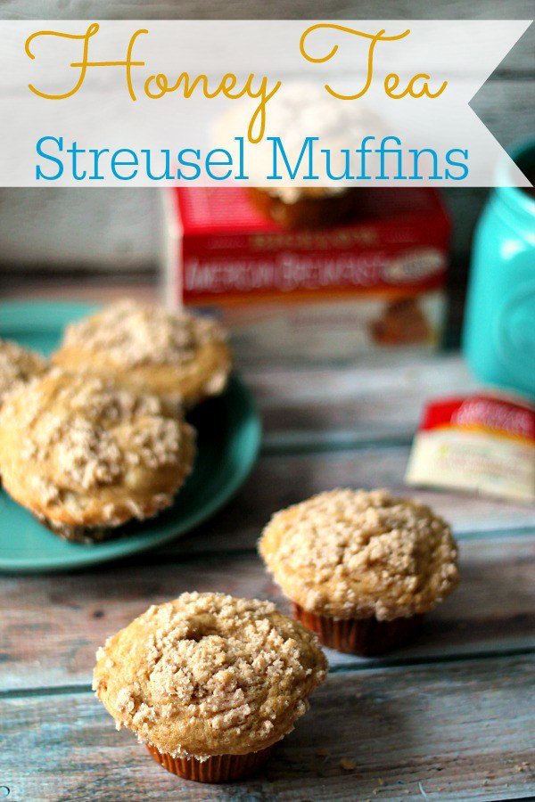 Honey Tea Streusel Muffins // Life with the Crust Cut Off