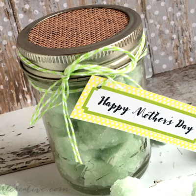Sugar Scrub Cubes Mother's Day Gift
