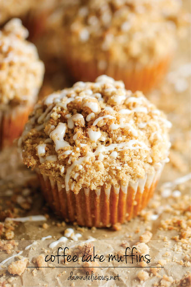 Damn Delicious Coffee Cake Muffins