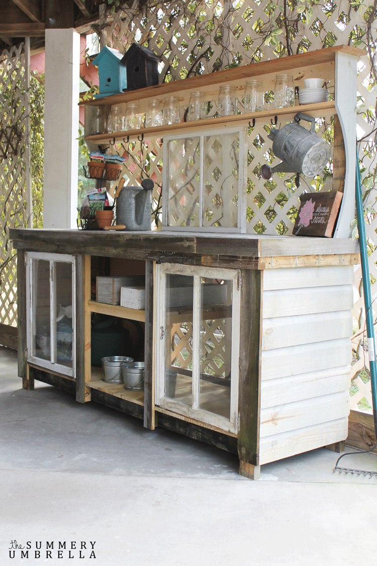 How to Make Potting Bench