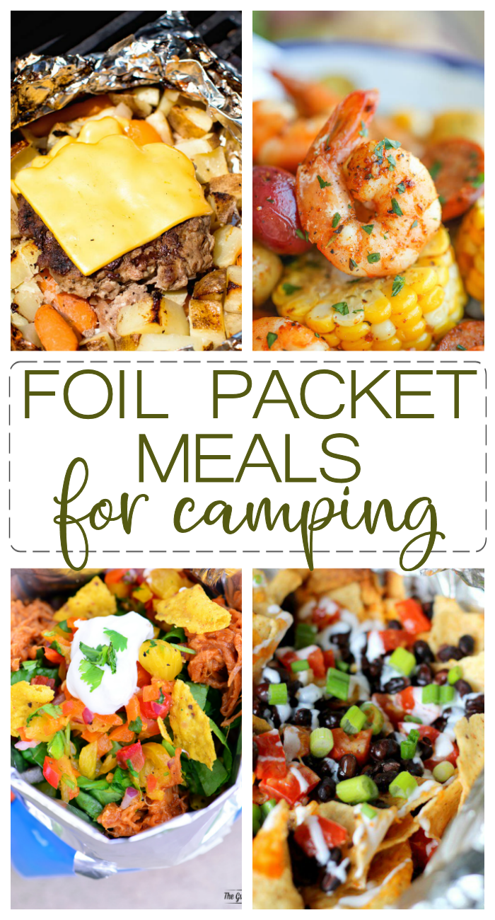 Foil Packet Meals make dinner during the summer so much fun.Add these foil packet chicken, foil packet tacos and hobo cheeseburger recipes to your weekly dinner rotation.