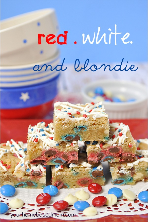 Red White and Blondies-Your Homebased Mom