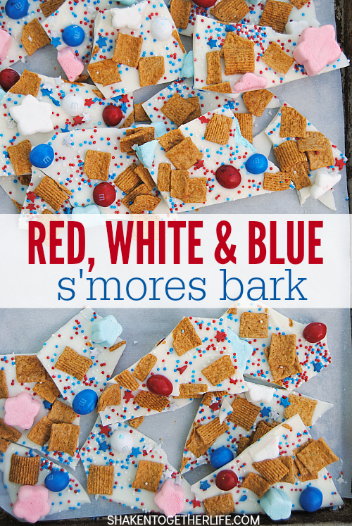 red-white-blue-smores-bark-Reasons to Skip the Housework