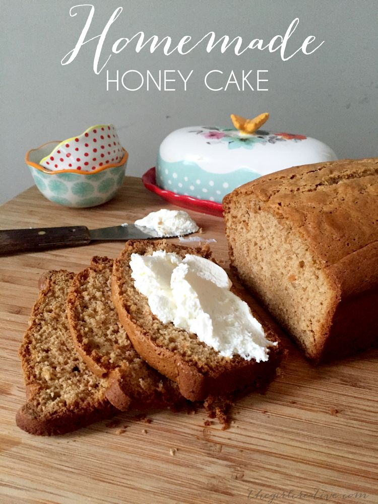 Delicious homemade honey cake. This recipe takes a traditional boxed pound cake mix and turns it into something extraordinary.