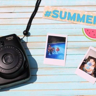Summer Photo Display Board