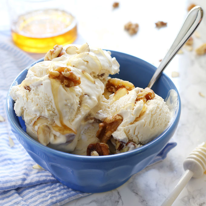 no-churn-honey-nut-ice-cream-4