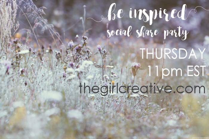 Be Inspired Social Share Party-Feature