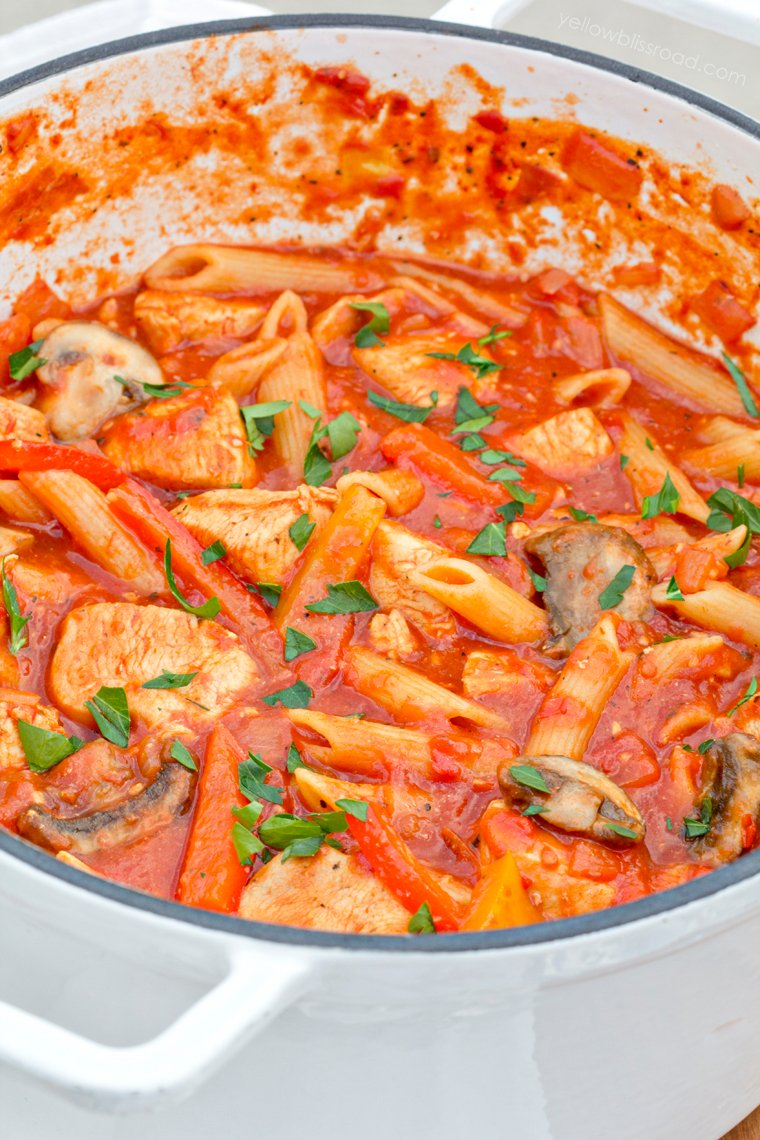 Chicken-Cacciatore-One-Pot-Meal