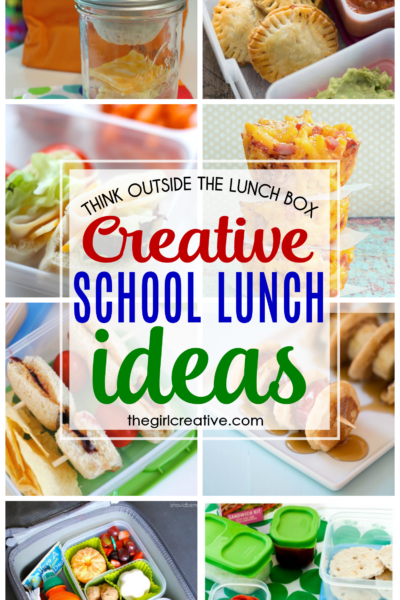 Think outside the lunch box with these creative school lunch ideas.