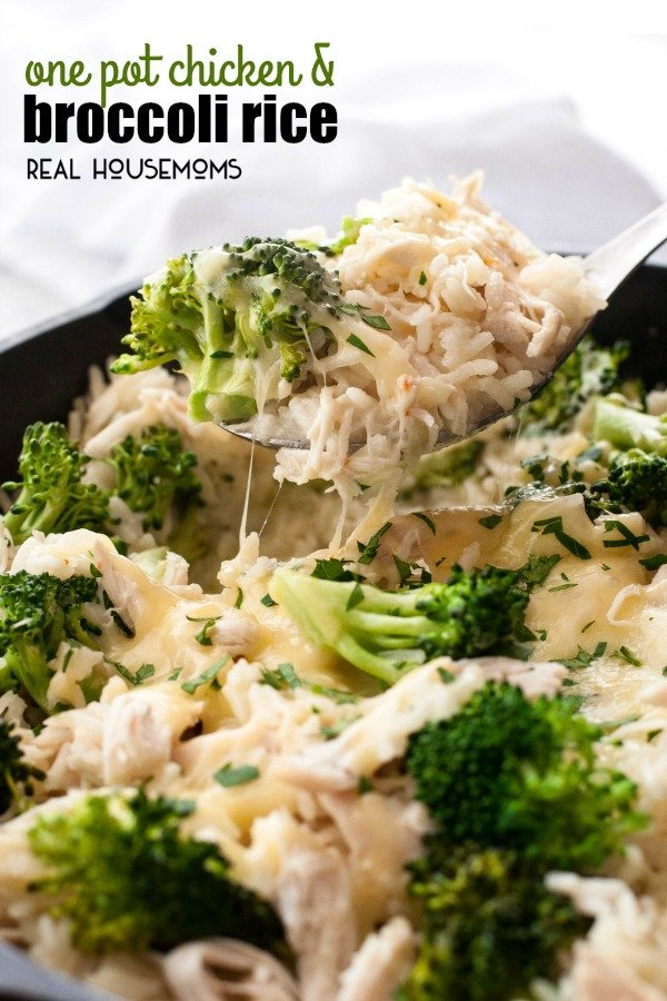 One-Pot-Chicken-and-Broccoli-Rice-real housemoms
