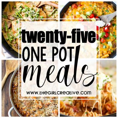25 One Pot Meals