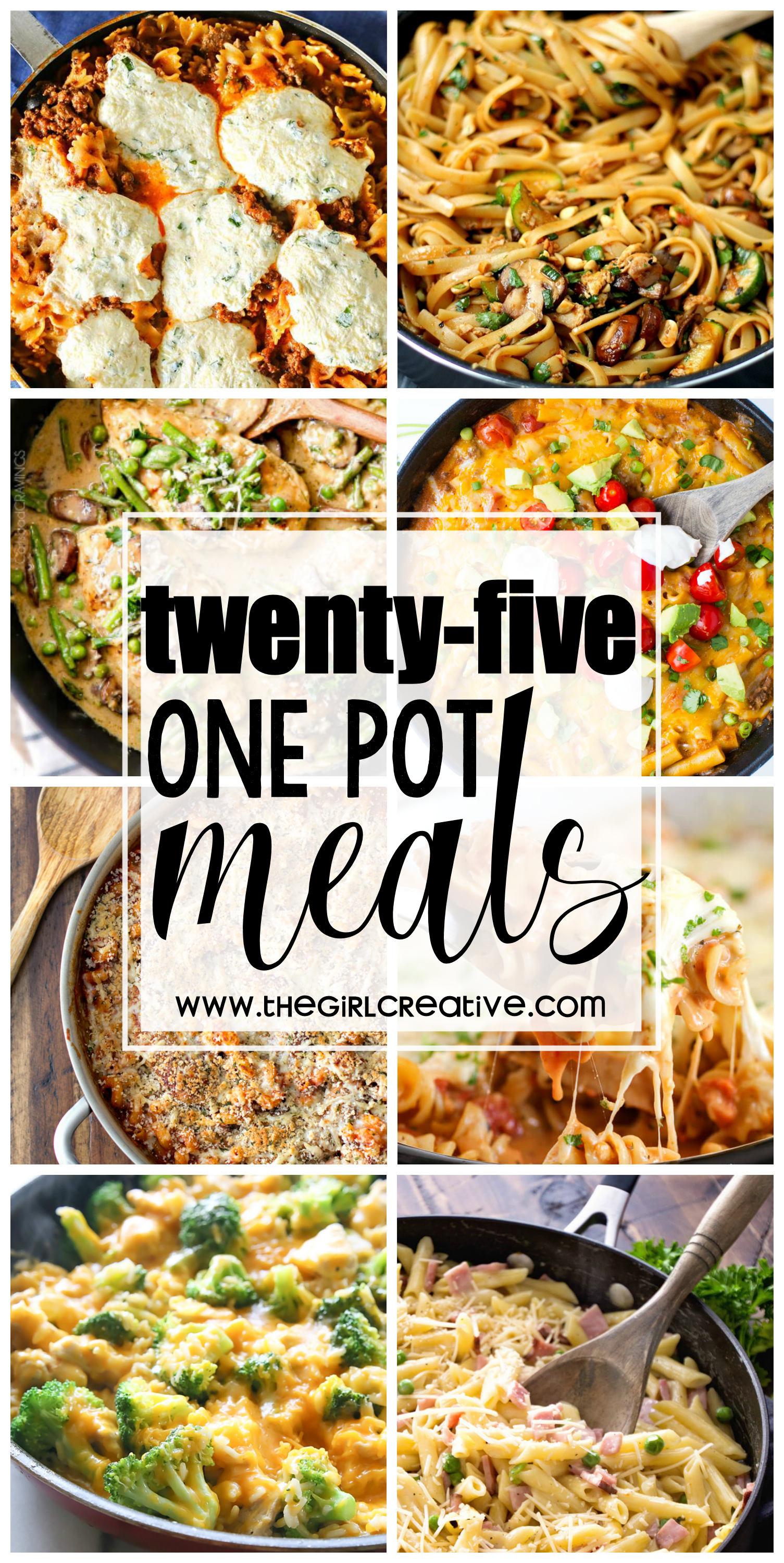 One Pot Meals for the Busy Mom-Quick dinner-time meals that can be whipped up in no time