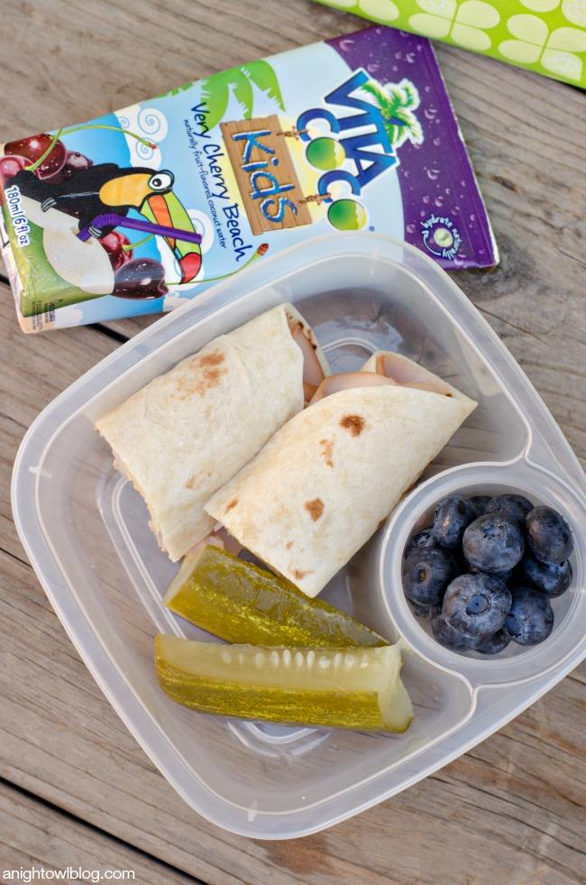 Schoo Lunch - Turkey Roll-ups-night owl