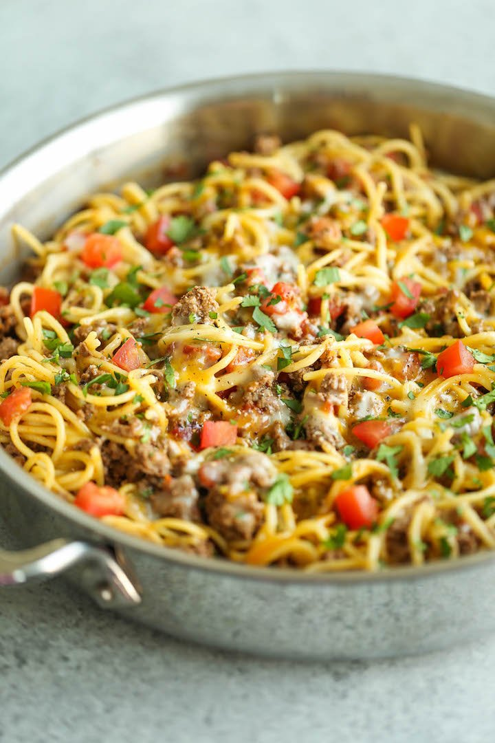 Mel S Kitchen Cafe Skillet Spaghetti