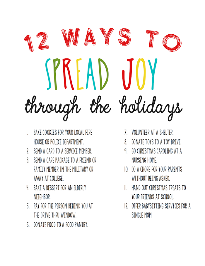 12-ways-to-spread-joy-random-acts-of-kindness