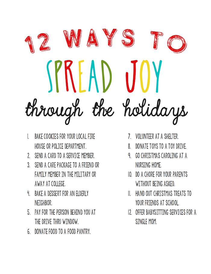 12-ways-to-spread-joy-random-acts-of-kindness
