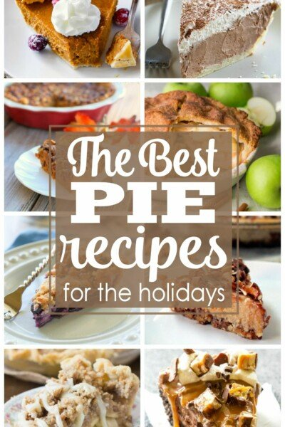 The Best Pie Recipes for the Holidays | Thanksgiving Desserts