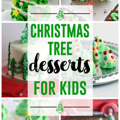 Christmas Tree Desserts for Kids | Christmas Themed Treats