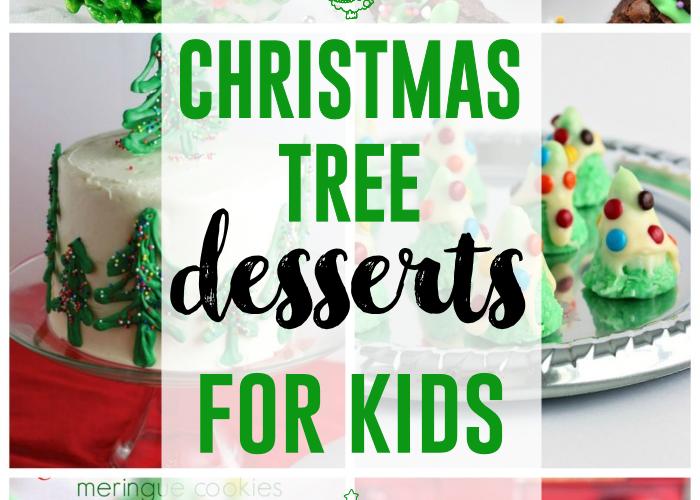 Christmas Tree Desserts for Kids