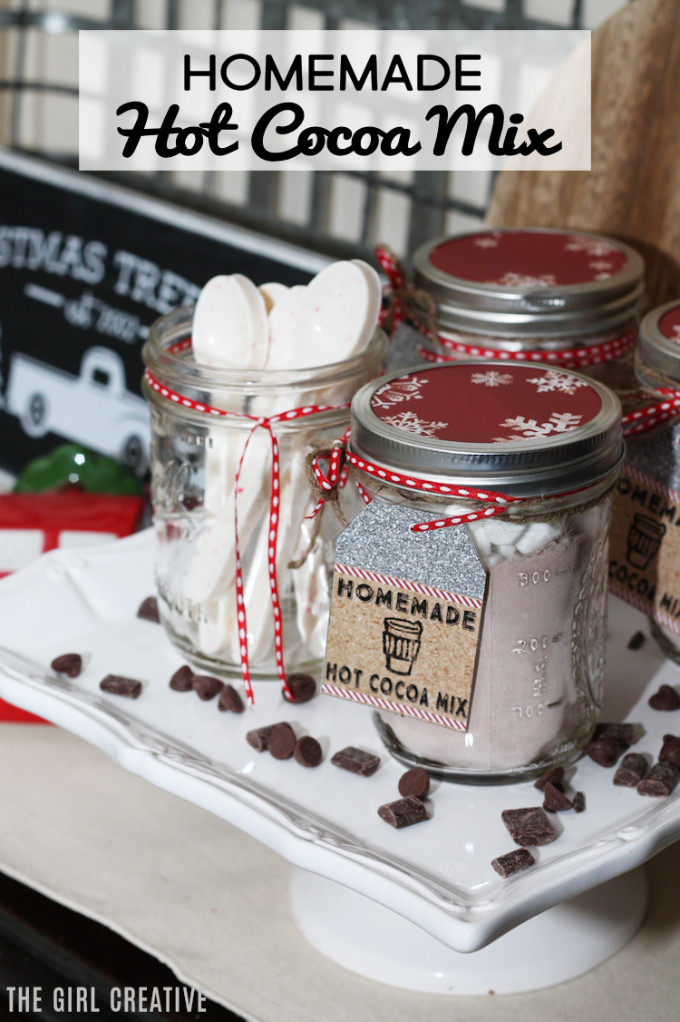 Delicious Homemade Hot Cocoa Mix | Mason Jar Gift Idea
