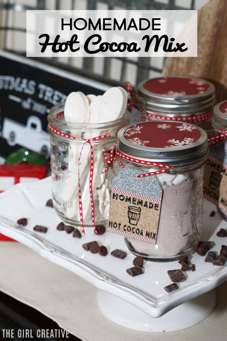 Delicious Homemade Hot Cocoa Mix | Mason Jar Gift Idea
