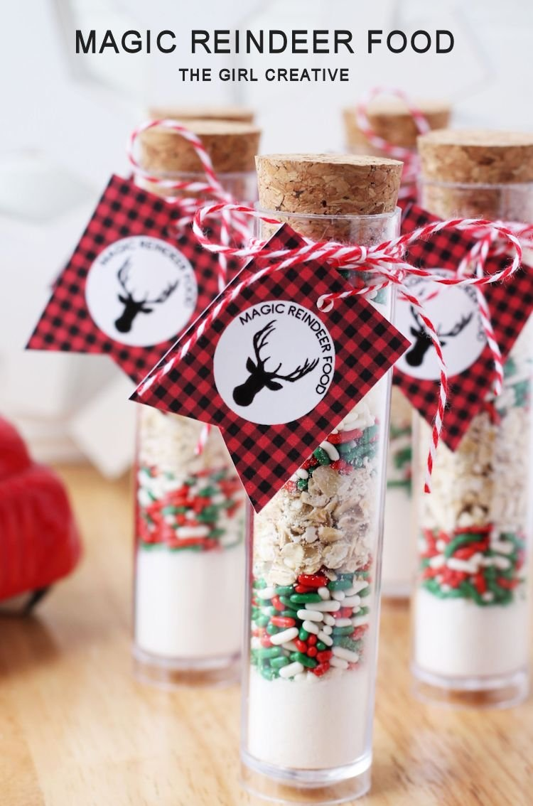 Magic Reindeer Food | Free Printable Tags
