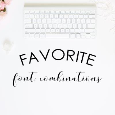 Favorite Font Combinations – Volume 2