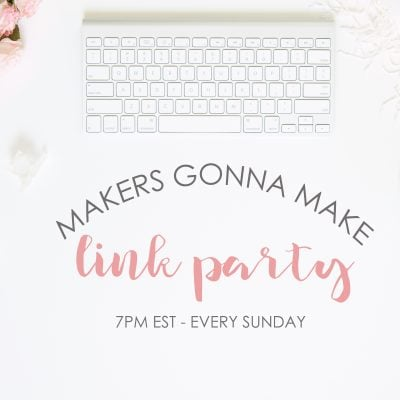 Makers Link Party {no. 109}
